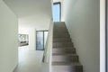 Interior, cement staircase Royalty Free Stock Photo