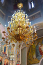 Interior church the of the of russia Royalty Free Stock Photography