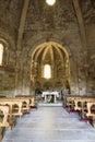 Interior of Church of Saint Mary Stock Image