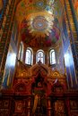 Interior of the church of the Savior on Spilled Blood, St Petersburg