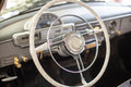 Interior of a classic car Royalty Free Stock Photo