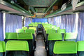 Interior of a coach an interurban Stock Photo