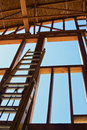 Interior Construction Ladder Royalty Free Stock Images