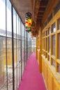 Interior corridors Stock Photo
