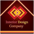 Interior Design Company Logo Royalty Free Stock Photo