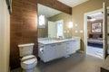 Interior design of a luxury bathroom Royalty Free Stock Photo