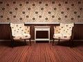 Interior design of modern living room Royalty Free Stock Photo