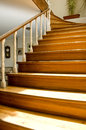 Interior design - stairs Royalty Free Stock Photo