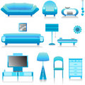 Interior design vector 1 Royalty Free Stock Photography