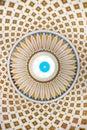 Interior detail of the dome of the Rotunda of Mosta, Malta Royalty Free Stock Photo