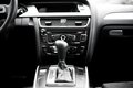 Interior details and elements of modern car, automatic transmission Royalty Free Stock Photo