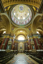 Interior details of Saint Stephen Basilica Royalty Free Stock Images