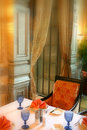 Interior of the Dining Room Royalty Free Stock Photo