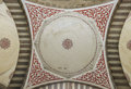 Interior dome of the Blue Mosque, Istanbul, Turkey. Royalty Free Stock Photo