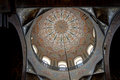 Interior of the Echmiadzin cathedral, Armenia Royalty Free Stock Photo