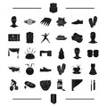 Interior, entertainment, sport and other web icon in black style. agriculture, recreation, wedding icons in set