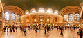 Interior of Grand Central Station in New York City Royalty Free Stock Photo