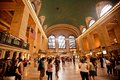 Interior of Grand Central Station in New York City Royalty Free Stock Photos