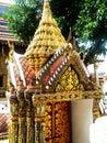 Interior of the grand palace in bangkok thailand Stock Photos