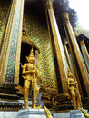 Interior of the grand palace in bangkok thailand Royalty Free Stock Image