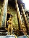Interior of the grand palace in bangkok thailand Royalty Free Stock Image