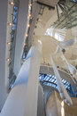 Interior of guggenheim museum in bilbao spain march the the spain on march the is a modern and Stock Image