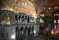 Interior of Hagia Sophia Museum Royalty Free Stock Photos