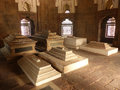 Interior of isa khan niyazi tomb at humayun s tomb complex delhi india it was the first garden on the indian subcontinent Royalty Free Stock Photography