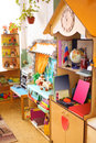Interior of kindergarten Royalty Free Stock Photos