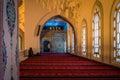 Interior of the Kocatepe mosque in Ankara Royalty Free Stock Photo
