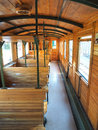 Interior of lold train carriage Royalty Free Stock Photo