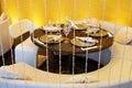 Interior of luxury restaurant Royalty Free Stock Photos