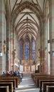 Interior of marienkapelle in wurzburg germany st mary chapel Stock Photography