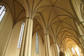 Interior of the marienkirche in berlin germany europe Stock Photos
