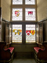 Interior of a medieval castle in scotland Royalty Free Stock Images