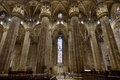 Interior of the Milan Cathedral Royalty Free Stock Photo