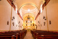 Interior of Mission San Jose Royalty Free Stock Photo