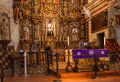 Interior Of Mission San Xavier del Bac Royalty Free Stock Photo
