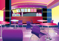 Interior of a modern bar vector illustration Stock Photos