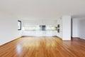 Interior modern empty flat, apartment Royalty Free Stock Photo