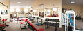 Interior of modern gym Royalty Free Stock Photo