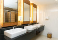 Interior of Modern private toilet or restroom Royalty Free Stock Photo