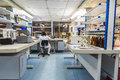 Interior of modern research laboratory Royalty Free Stock Photo