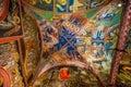 Interior Of Monastery of Varlaam - Meteora, Greece Royalty Free Stock Photo