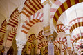 Interior of Mosque-Cathedral Royalty Free Stock Images