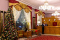 Interior of National Hotel in Moscow Royalty Free Stock Photo