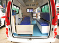 Interior of new ambulance Royalty Free Stock Photography