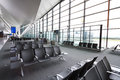Interior of new modern terminal at Lech Walesa Air Royalty Free Stock Photography