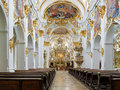 Interior of old chapel in regensburg germany alte kapelle Stock Photos