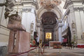 Interior of Palermo Cathedral Royalty Free Stock Images